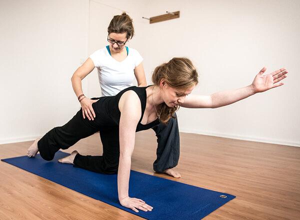 Pilates hilft im Job gesund zu bleiben